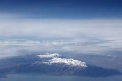 καλυμμένο σύννεφα χιόνι βο στοκ φωτογραφίες με δικαίωμα ελεύθερης χρήσης