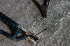 Καλωδίωση του λουριού για ηλεκτρικό στοκ φωτογραφία με δικαίωμα ελεύθερης χρήσης