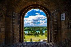 Καλωσορίστε στη Σερβία στοκ εικόνες