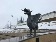 Καλωσορίστε στο Κρεμλίνο Kazan στοκ εικόνες