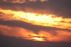 Καλό βόρειο Γιορκσάιρ ηλιοβασίλεμα Ηνωμένο Βασίλειο Στοκ Φωτογραφίες