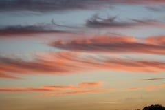 Καλό βόρειο Γιορκσάιρ σύστημα Ηνωμένο Βασίλειο σύννεφων Στοκ εικόνες με δικαίωμα ελεύθερης χρήσης