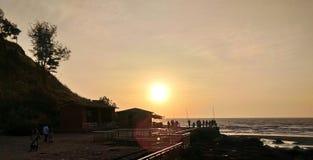 Καλό ηλιοβασίλεμα Στοκ εικόνα με δικαίωμα ελεύθερης χρήσης