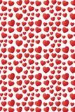 Καλό μειωμένο σχέδιο σχεδίων καρδιών άνευ ραφής Στοκ Φωτογραφία