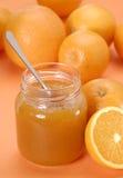 καλό πορτοκάλι μαρμελάδας στοκ φωτογραφία με δικαίωμα ελεύθερης χρήσης