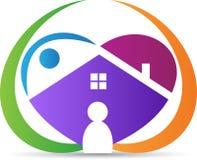 Καλό σπίτι διανυσματική απεικόνιση