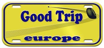 καλό ταξίδι της Ευρώπης Στοκ φωτογραφία με δικαίωμα ελεύθερης χρήσης
