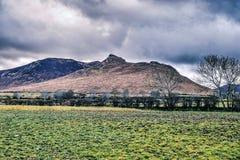 Καλό τοπίο βουνών με την πράσινη χλόη στοκ φωτογραφία με δικαίωμα ελεύθερης χρήσης