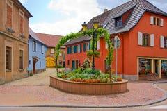 Καλό χωριό κοντά σε Onzain στοκ εικόνες