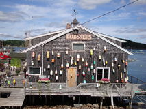 καλύβα αστακών Στοκ φωτογραφίες με δικαίωμα ελεύθερης χρήσης