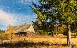 καλύβα ξύλινη Στοκ εικόνες με δικαίωμα ελεύθερης χρήσης