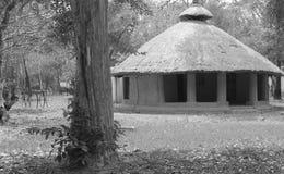Καλύβα στο χωριό στοκ εικόνες