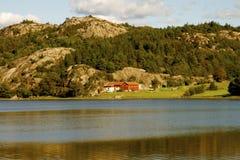 καλύβες σουηδικά Στοκ φωτογραφία με δικαίωμα ελεύθερης χρήσης