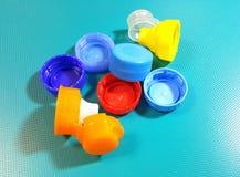 Καλύμματα μπουκαλιών στοκ φωτογραφίες με δικαίωμα ελεύθερης χρήσης