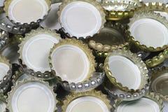 καλύμματα μπουκαλιών Στοκ Εικόνες