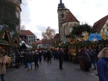 Καλύτερες αγορές Χριστουγέννων στη Γερμανία Στουτγάρδη στοκ εικόνες