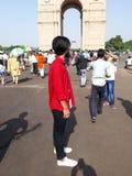 Καλύτερη θέση Νέο Δελχί τουριστών στοκ φωτογραφία
