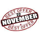 Καλύτερη προσφορά Δεκέμβριος ελεύθερη απεικόνιση δικαιώματος