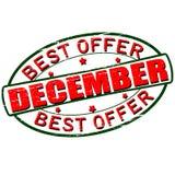 Καλύτερη προσφορά Δεκέμβριος απεικόνιση αποθεμάτων