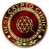 Καλύτερη Crypto επιλογή - QTUM Στοκ Εικόνες