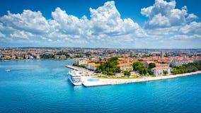 Καλύτερος ευρωπαϊκός προορισμός 2016, Zadar στοκ φωτογραφία με δικαίωμα ελεύθερης χρήσης