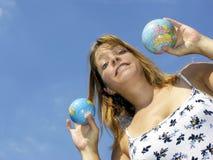 καλύτερος και οι δύο κόσμοι Στοκ φωτογραφία με δικαίωμα ελεύθερης χρήσης