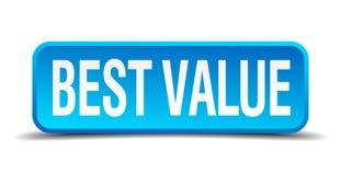 καλύτερο κουμπί αξίας Στοκ Φωτογραφία