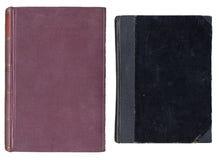 καλύψεις βιβλίων παλαιά δύο Στοκ φωτογραφίες με δικαίωμα ελεύθερης χρήσης