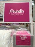 Καλύψεις μαξιλαριών εγχώριας συλλογής Freundin Στοκ Εικόνες