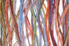 Καλώδια και καλώδια του ηλεκτρικού δικτύου Στοκ εικόνα με δικαίωμα ελεύθερης χρήσης