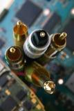 καλώδια καλωδίων δεσμών Στοκ φωτογραφία με δικαίωμα ελεύθερης χρήσης