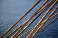 καλώδια σχοινιών Στοκ Φωτογραφίες