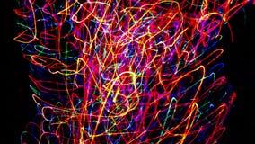Καλώδια του φωτός απόθεμα βίντεο