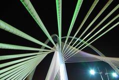 καλώδιο γεφυρών Στοκ Φωτογραφία