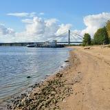 Καλώδιο-μένοντη γέφυρα στοκ εικόνες με δικαίωμα ελεύθερης χρήσης