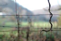 καλώδιο φραγών Στοκ φωτογραφίες με δικαίωμα ελεύθερης χρήσης