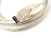 καλώδιο firewire στοκ φωτογραφία με δικαίωμα ελεύθερης χρήσης