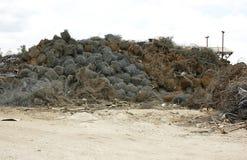 Καλώδιο απορρίματος για την ανακύκλωση Στοκ φωτογραφίες με δικαίωμα ελεύθερης χρήσης
