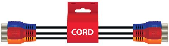 Καλώδιο στη συσκευασία Στοκ φωτογραφία με δικαίωμα ελεύθερης χρήσης