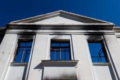 Καμένο σχολείο Στοκ Εικόνες