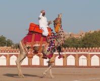 καμήλα δίκαιη Ινδία jaisalmer Στοκ φωτογραφία με δικαίωμα ελεύθερης χρήσης