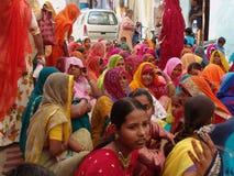 καμήλα δίκαιη Ινδία jaisalmer Στοκ Φωτογραφίες
