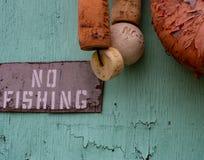 Καμία αλιεία στην αγορά ψαριών στοκ φωτογραφίες με δικαίωμα ελεύθερης χρήσης