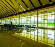 Καμία αναμονή σε έναν αερολιμένα Στοκ Φωτογραφίες