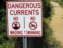 Καμία κολύμβηση Στοκ φωτογραφίες με δικαίωμα ελεύθερης χρήσης