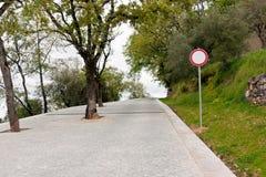καμία κυκλοφορία οδών Στοκ εικόνες με δικαίωμα ελεύθερης χρήσης