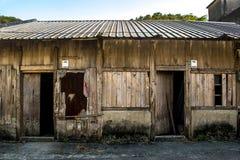Καμία ξύλινη ζωή κτηρίου/χωρών αποκατάστασης Στοκ Φωτογραφίες