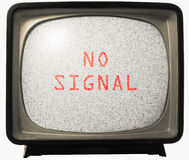 καμία TV σημάτων θορύβου Στοκ φωτογραφία με δικαίωμα ελεύθερης χρήσης