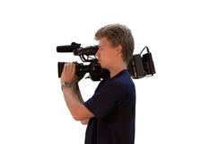 καμεραμάν Στοκ εικόνες με δικαίωμα ελεύθερης χρήσης