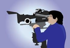 καμεραμάν Στοκ εικόνα με δικαίωμα ελεύθερης χρήσης
